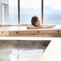 ■展望露天風呂「天守の湯」