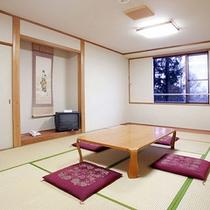 *和室一例/広々!畳の上で足を伸ばしてごろり♪穏やかな時間を。