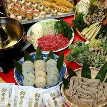*夕食一例(冬)/しゃぶしゃぶ