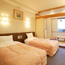 *和洋室一例/ベッドでぐっすりとご就寝頂けます。