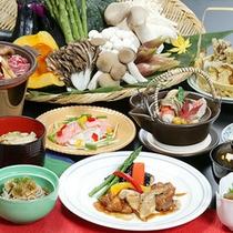 *夕食一例(グリーン期)/からだも喜ぶ♪栄養たっぷりの味覚