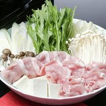 *夕食一例(冬)/豚しゃぶ
