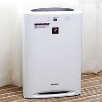 全室 加湿機能付き空気清浄機 完備