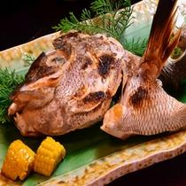 ご夕食例/旬魚の焼物