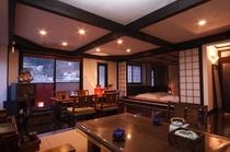 夕方の特別室