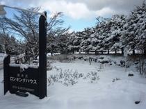 冬の軽井沢