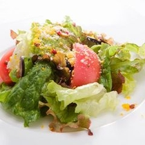信州高原野菜のサラダ