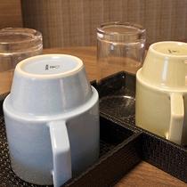 設備:ティーカップ・グラス 2名利用