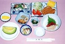 夏の夕食の一例