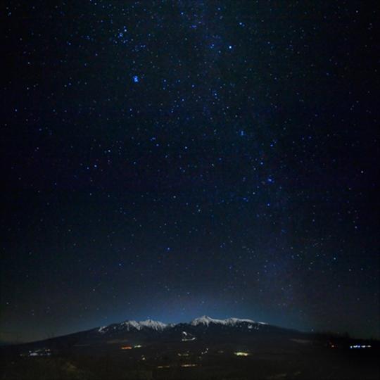 八ヶ岳の星空 写真提供:楽天トラベル