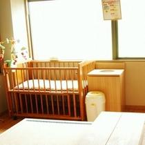 「赤ちゃんに優しいお宿」を目指します♪宿」お母さんにも嬉しいサービスを。