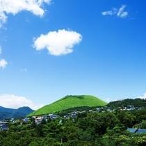 ★ホテルからの眺望(裏・大室山)