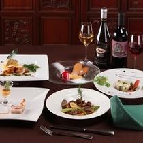 ●イタリアンレストラン・ディナーAコース