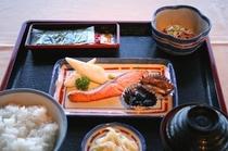 クラブハウス:和定食(朝食)