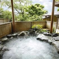 富貴の湯・露天風呂