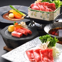 夕食■秋料理■お肉チョイスイメージ