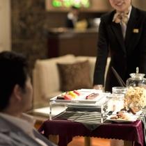 夕食■デザートワゴン(ダイニング食プランサービス)