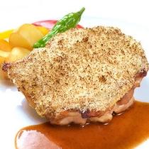 イタリアン 鶏肉メイン料理イメージ