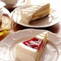 ティーラウンジ「マロウ」のケーキセット