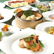 レストラン「ベルガモット」ディナー一例(メイン魚料理)