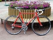 オーナーの自転車