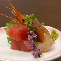 【ご夕食一例】~刺身~