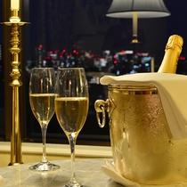 記念日プラン シャンパン(夜景バック)