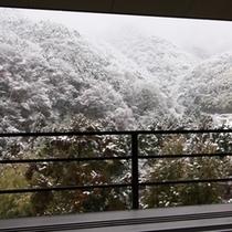 ●ラウンジ(雪景色)