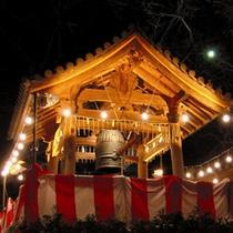 ■「高輪 除夜の鐘」日本庭園に鐘の音が響きます。
