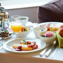 ■インルームダイニング朝食(アメリカン)イメージ