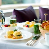 ■エッグベネディクトのご朝食 イメージ