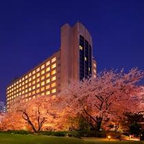 ■桜の時期のザ・プリンス さくらタワー東京 イメージ