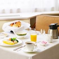 ■高輪インルームダイニング朝食