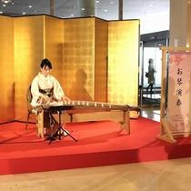 2016桜まつり ロビーにてお琴の演奏 4月2日、3日(11:00、15:00)
