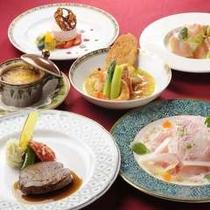 夕食:KAWANAディナー※写真はイメージです