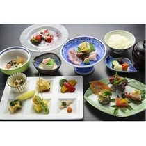 夕食:選べる和洋食(和食コース)※写真はイメージです