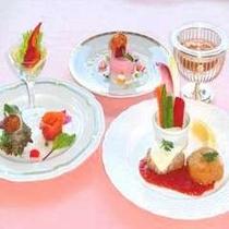 つつじディナー洋食イメージ
