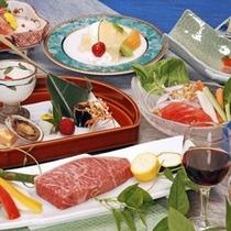 2011飛騨牛ステーキ付会席