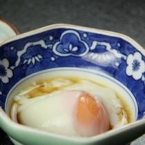 朝食_温泉たまご