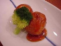 梅肉ポーク酢豚