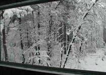 雪景色風呂