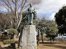 宮本武蔵像