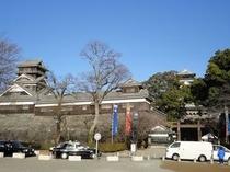 熊本城正面
