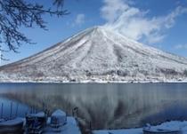 冬の中禅寺湖