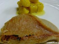 金目鯛のソテー レモンソース