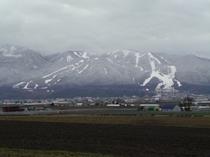 ふらのスキー場遠景