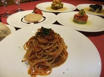 イタリアンフルコースディナー