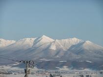 十勝岳連峰ズーム