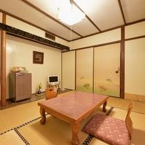 *和室6畳(客室一例)/一人旅やカップルに◎しっとり落ち着いた和室で寛ぎのひと時をお過ごし下さい。