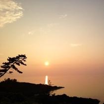 間人の夕日-2